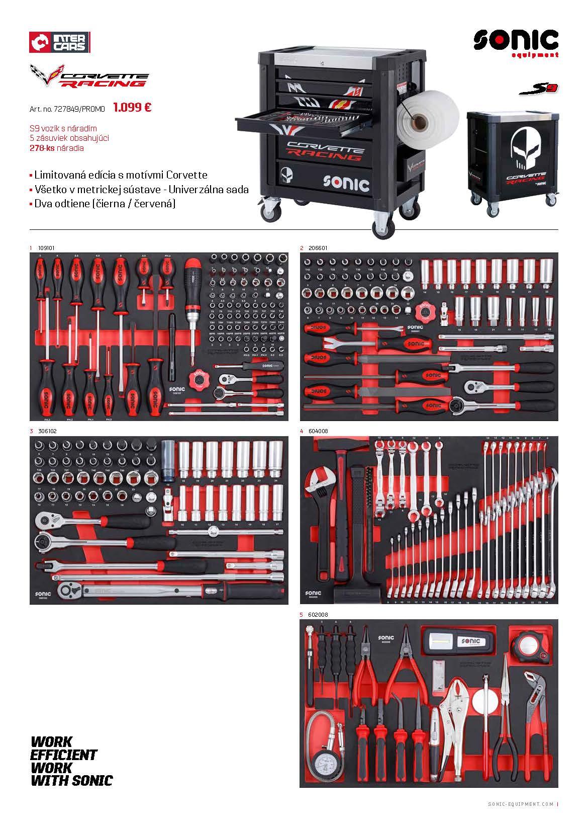 SONIC - Jesenná akciová ponuka vozíkov